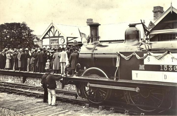Grassington Railway opening